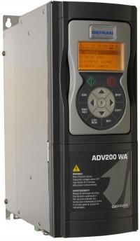 Przetwornica ADV200 WA dla HVAC i branży wodno-ściekowej