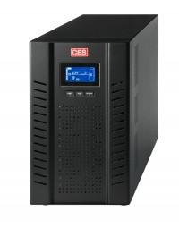 Zasilacz awaryjny UPS CES GX 1-10 kVA, jednofazowy UPS