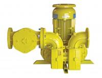 Dmuchawa do zwiększania ciśnienia biogazu i gazów przemysłowych