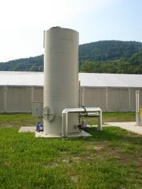 osiarczalnia biologiczna, odsiarczanie biogazu z siarkowodoru