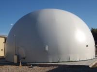 Zbiorniki do magazynowania biogazu